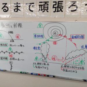 【動画】気団と前線